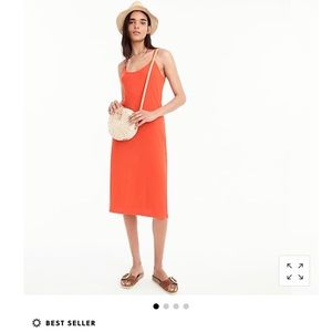 J. Crew NWT Strappy Knit Midi Dress (best seller)